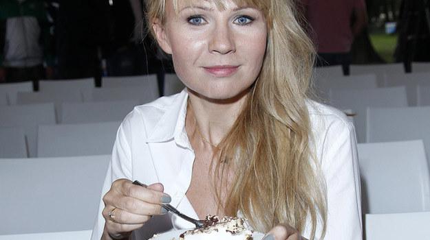 Anna Guzik na razie ma na talerzu, za chwilę będzie miała na widelcu... /AKPA