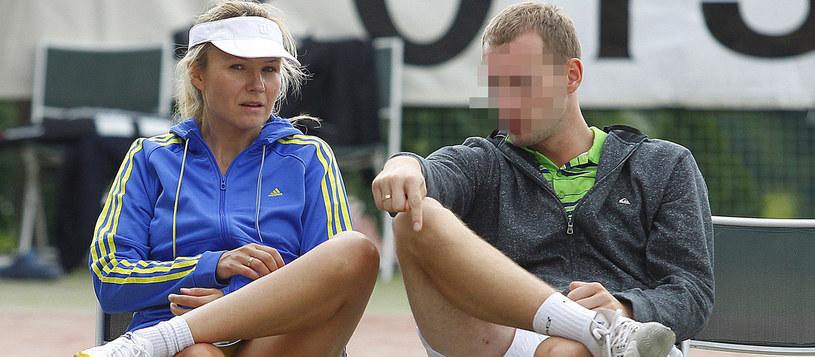 Anna Guzik z mężem / Engelbrecht /AKPA