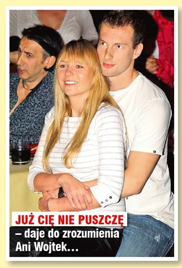 Anna Guzik z partnerem  /Rewia