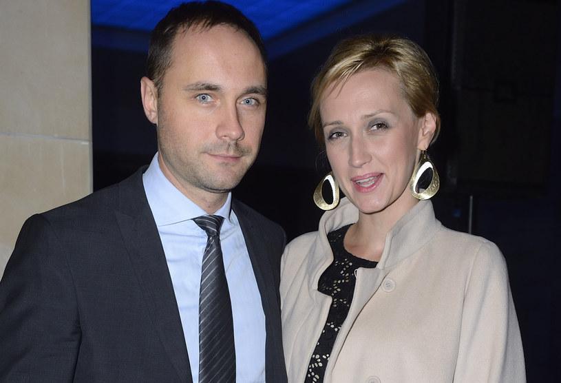 Anna Gzyra z mężem /Jarosław Antoniak /MWMedia