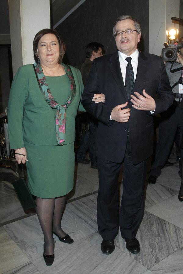Anna i Bornislaw Komorowscy /Kurnikowski /AKPA
