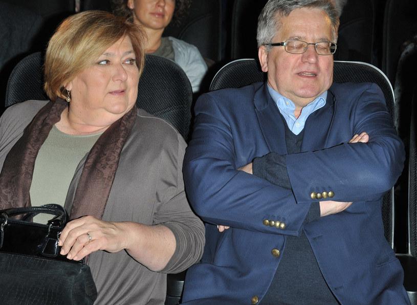 Anna i Bronisław Komorowscy /Marek Ulatowski /MWMedia