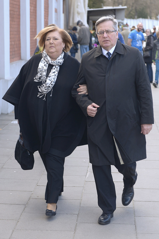 Anna i Bronisław Komorowscy /AKPA /AKPA