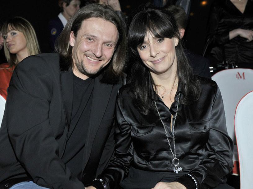 Anna i  Paweł często pokazują się razem. Wyglądają na bardzo szczęśliwych /Jacek Kurnikowski /AKPA