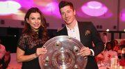 Anna i Robert Lewandowscy na imprezie Bayernu. Tak świętowali zdobycie mistrzostwa