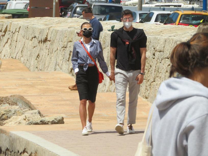 Anna i Robert Lewandowscy na Majorce /GJL/G3 Online/East News /East News