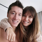 Anna i Robert Lewandowscy na randce