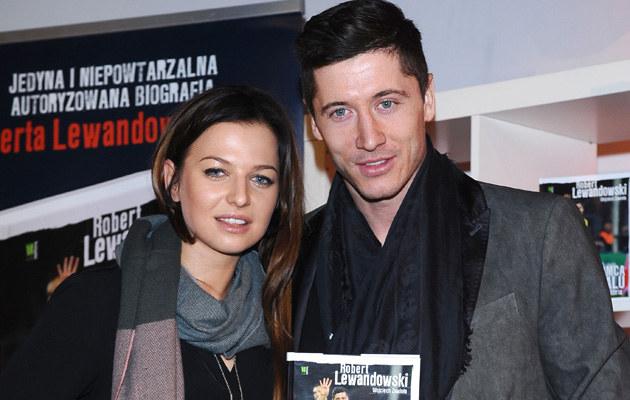 Anna i Robert Lewandowscy /Andras Szilagyi /MWMedia