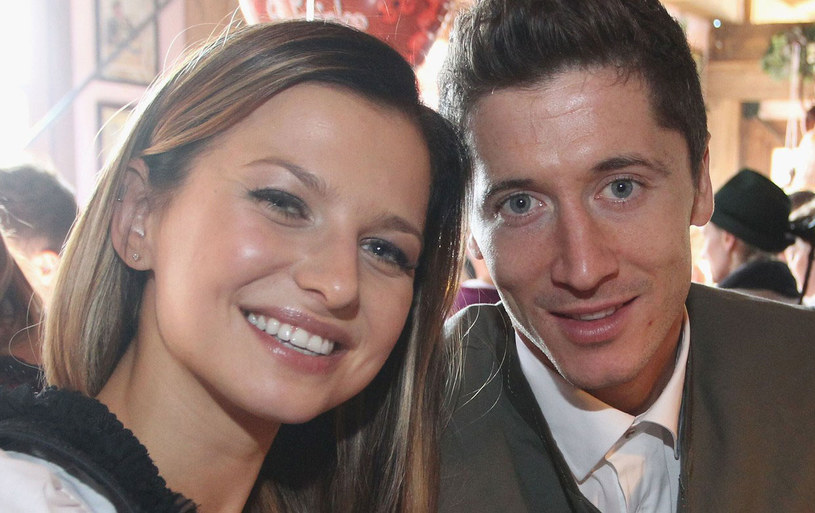 Anna i Robert Lewandowscy /AFP