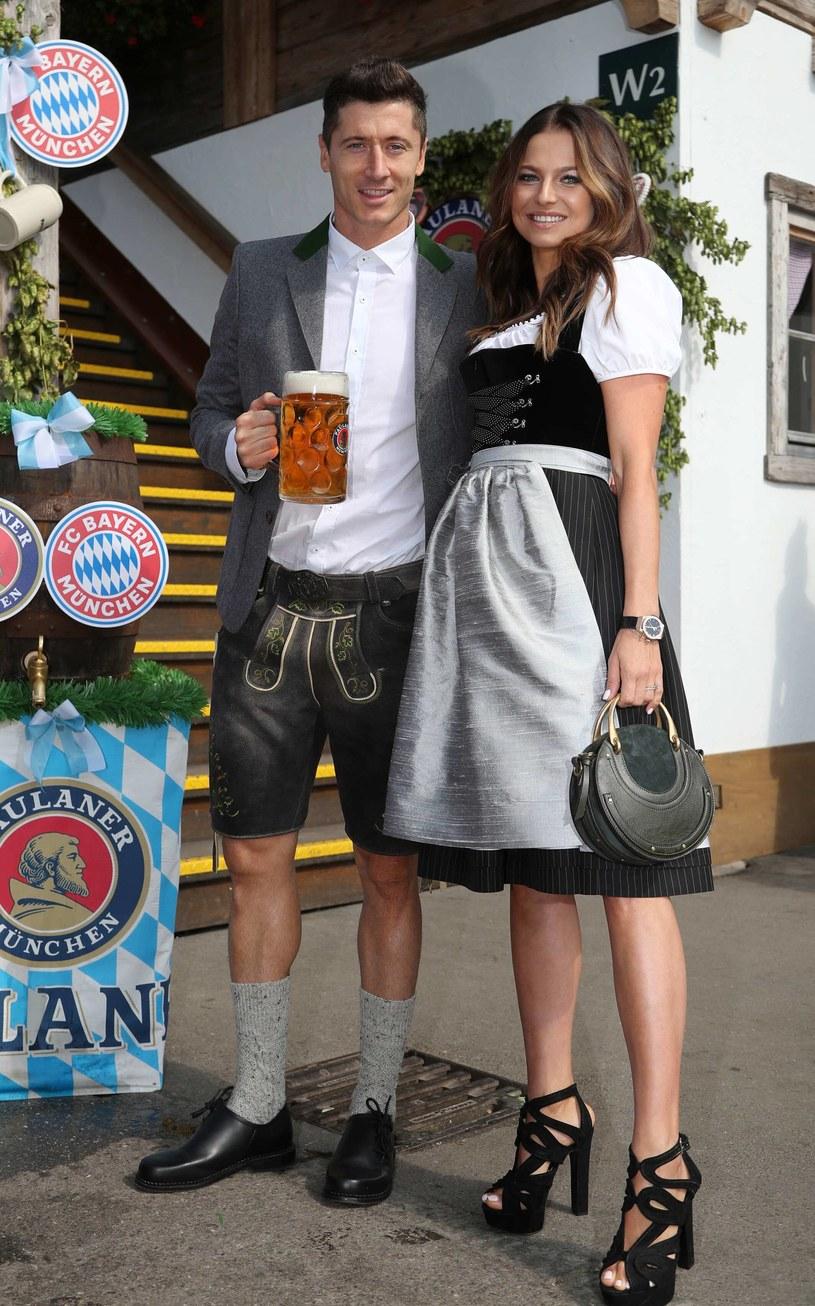 Anna i Robert Lewandowscy /Agencja FORUM
