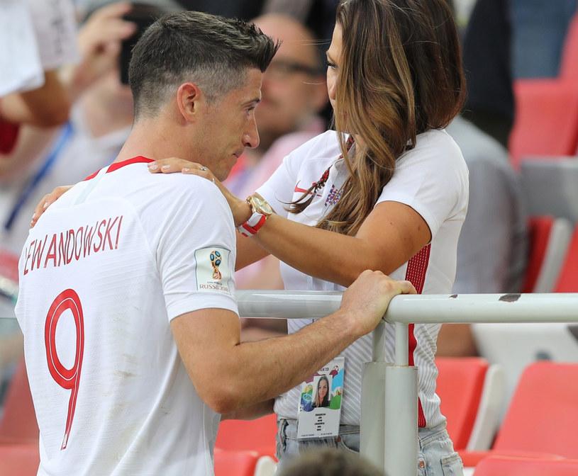 Anna i Robert Lewandowscy /Pierre Teyssot/SplashNews.com /East News