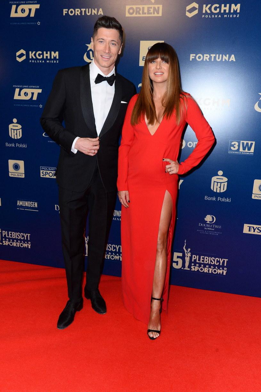 Anna i Robert Lewandowscy /Tricolors /East News