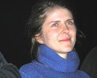 Anna Jadowska podczas spotkania z publicznością /INTERIA.PL