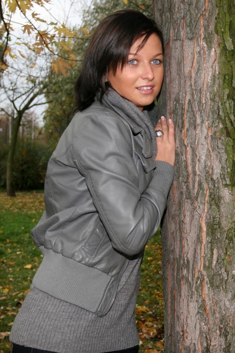 Anna (jeszcze wtedy) Stachurska, 2008 rok /Maciej Opala /Newspix