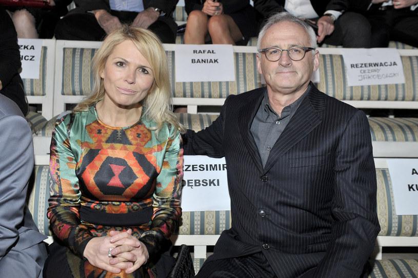 Anna Jurksztowicz i Krzesimir Dębski /Kurnikowski /AKPA