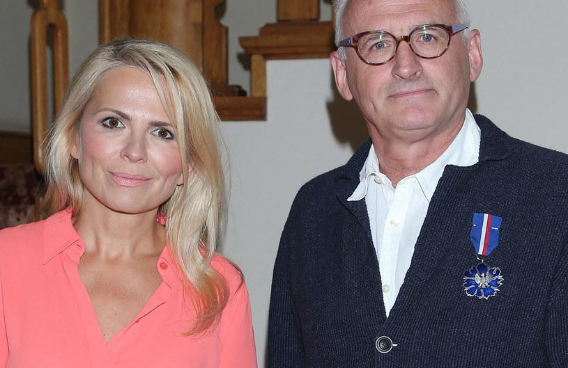 Anna Jurksztowicz i Krzesimir Dębski /Paweł Wrzecion /MWMedia