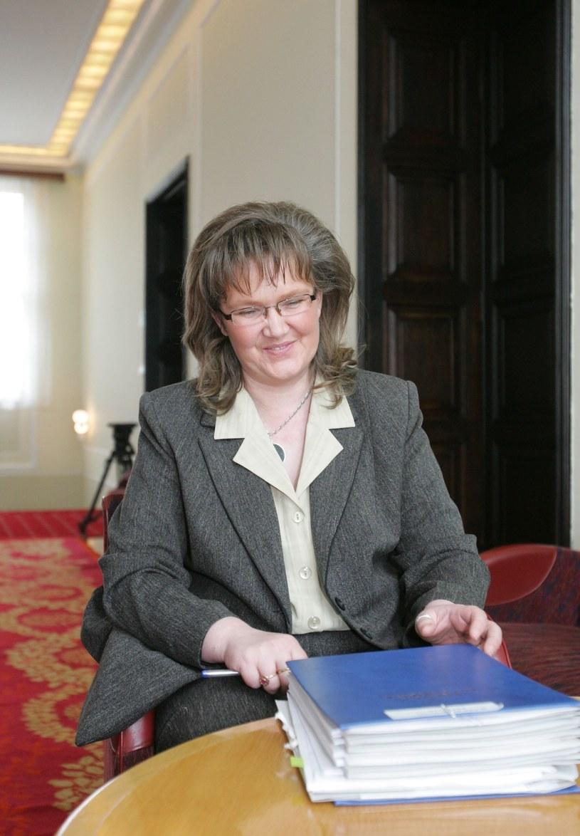 Anna Kalata w 2005 roku /MACIEJ MACIERZYNSKI/REPORTER /East News