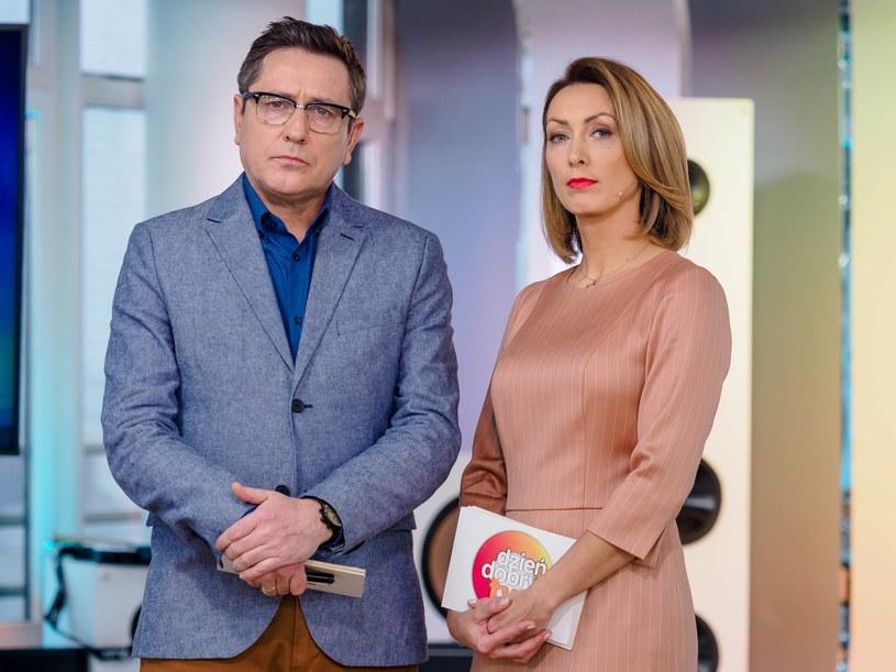 Anna Kalczyńska z Andrzejem Sołtysikiem /Tomasz Urbanek /East News