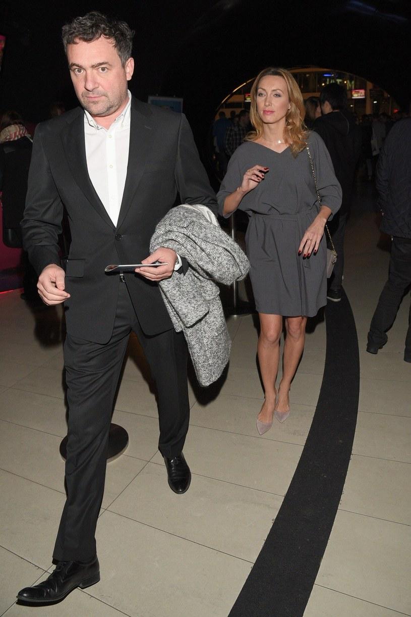 Anna Kalczyńska z mężem Maciejem /East News