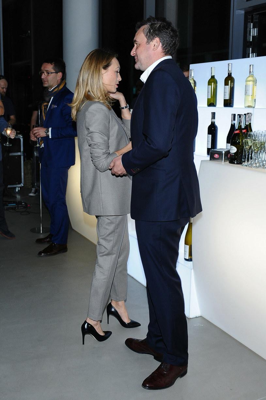 Anna Kalczyńska z mężem /VIPHOTO /East News