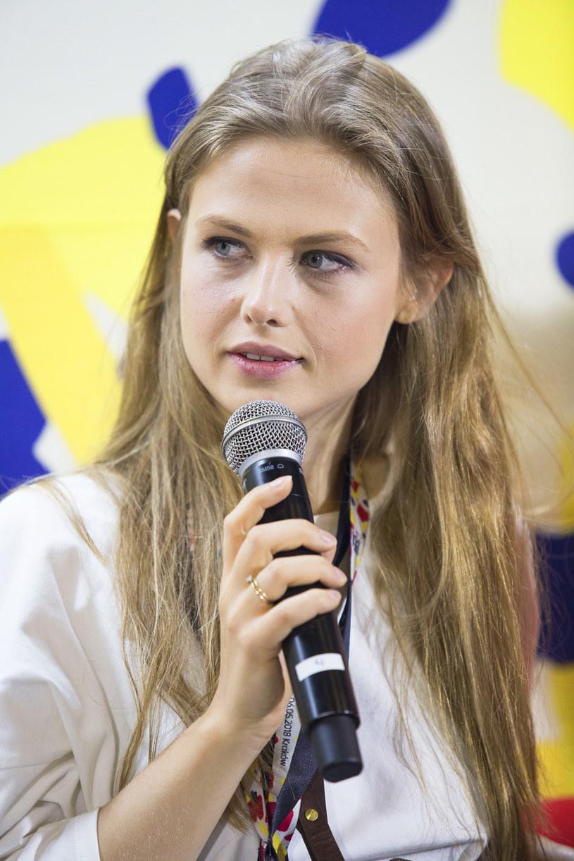 Anna Karczmarczyk na festiwalu Netia Off Camera w Krakowie (2018) /AKPA