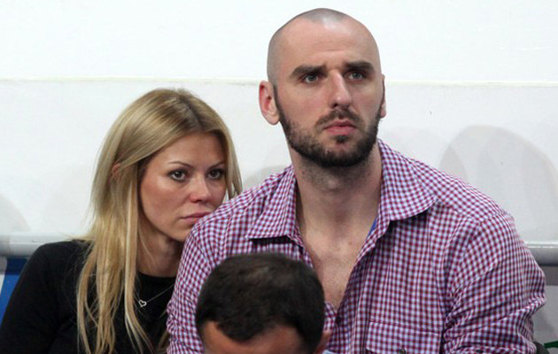 Anna Kociuga, Marcin Gortat /Przemysław Szyszka /East News