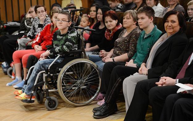 Anna Komorowska spotkała się z pacjentami Centrum Zdrowia Dziecka /fot. Jacek Turczyk /PAP