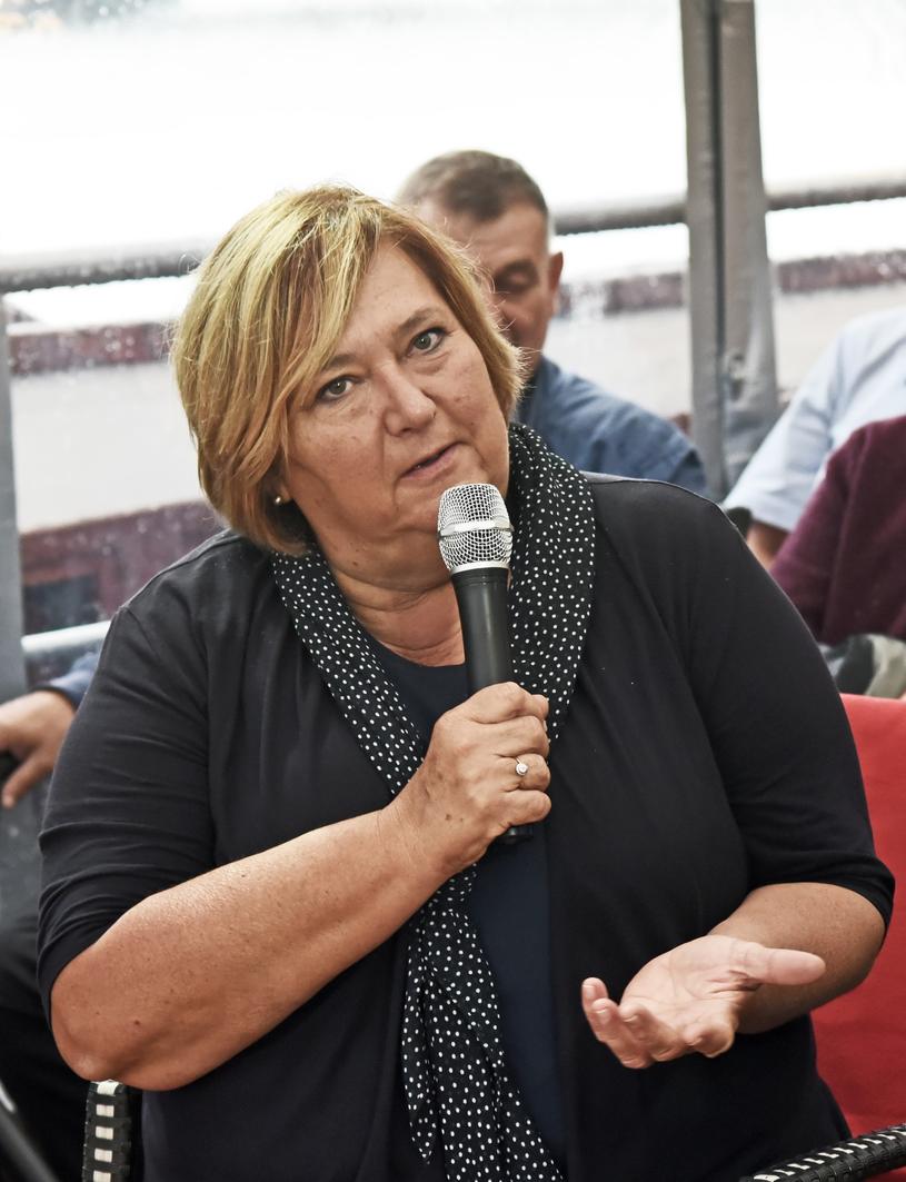 Anna Komorowska w Krakowie /M.Lasyk /Reporter