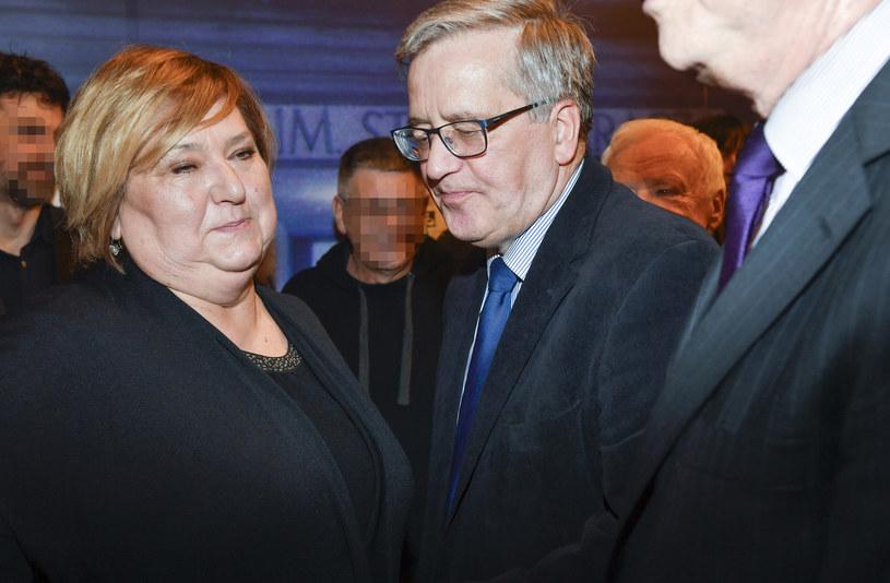 Anna Komorowskam Bronisław Komorowski /AKPA