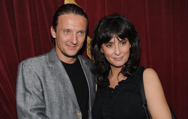 Anna Korcz z partnerem, fot.Adam Kępiński  /MWMedia