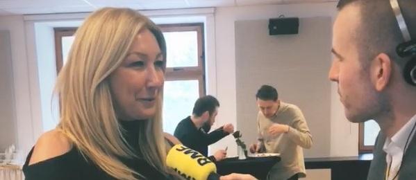 Anna Kulec-Karampotis w rozmowie z Michałem Dobrołowiczem /Ewa Kwaśny /RMF FM