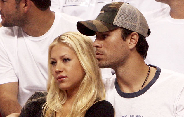 Anna Kurnikova i Enrique Iglesias, fot. Doug Benc   /Getty Images/Flash Press Media