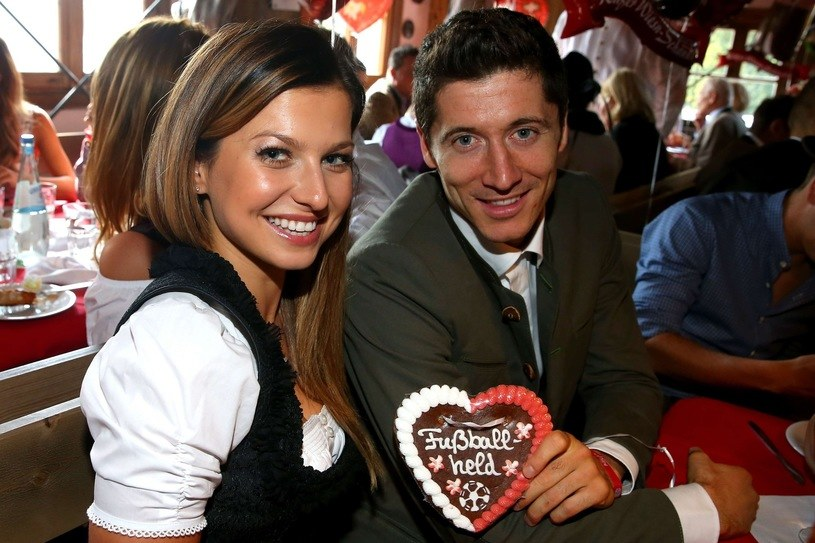 Anna Lewandowska i Robert Lewandowski /fot. ALEXANDER HASSENSTEIN /East News