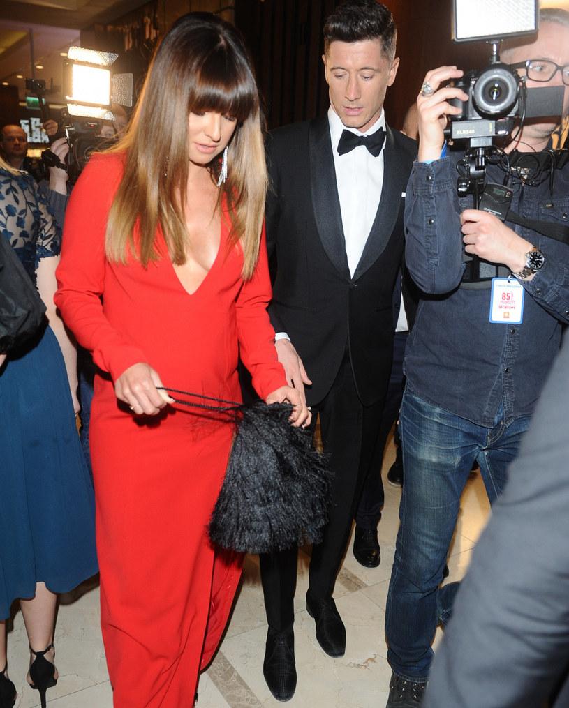 Anna Lewandowska i Robert Lewandowski /VIPHOTO /East News