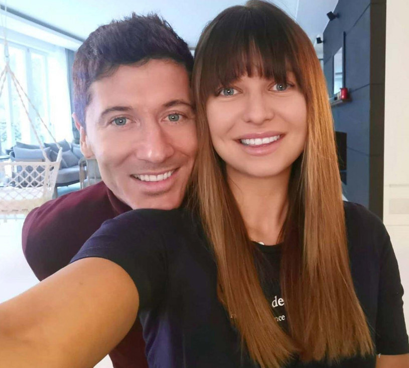 Anna Lewandowska i Robert Lewandowski /FaceToFace /East News
