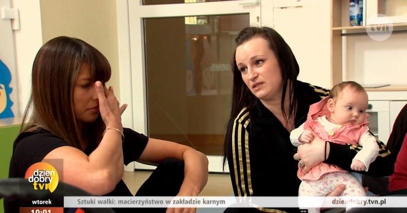 Anna Lewandowska nie mogła powstrzymać łez (Screen: dziendobry.tvn.pl) /TVN /materiał zewnętrzny
