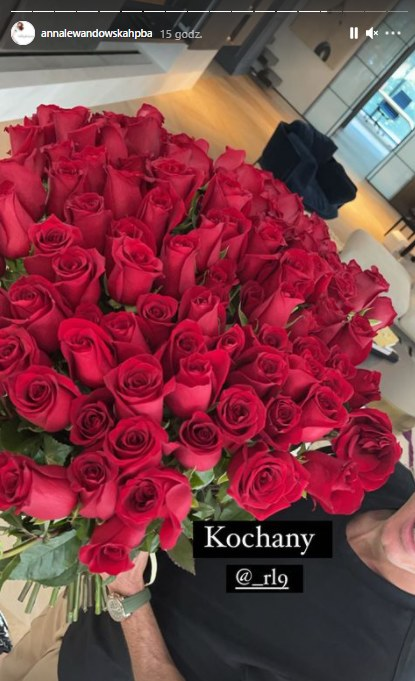 Anna Lewandowska pochwaliła się kwiatami od męża! Foto: Instagram / źródło: @annalewandowskahpba /Instagram