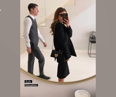 Anna Lewandowska towarzyszyła Robertowi podczas ceremonii wręczenia Złotego Buta. Wideo