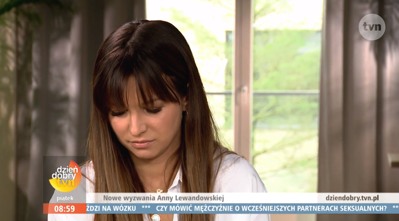 """Anna Lewandowska w """"Dzień Dobry TVN"""" (screen: dziendobry.tvn.pl) /materiał zewnętrzny"""