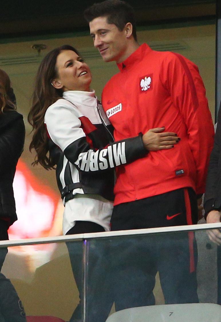Anna Lewandowska z mężem Robertem / Krystian Maj /Agencja FORUM