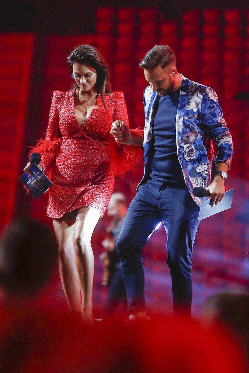 Anna Lucińska i Aleksander Sikora /Podlewski /AKPA