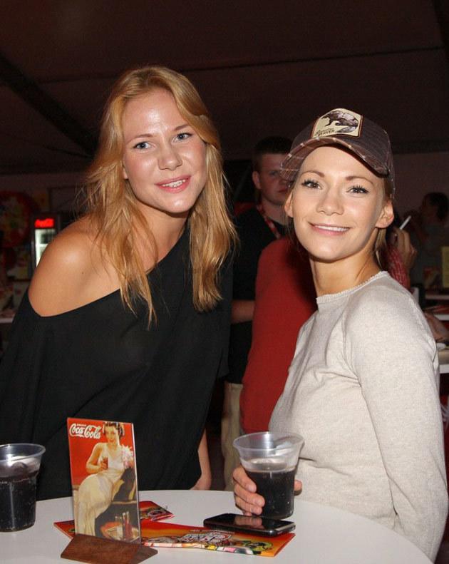 Anna Maria Cyrwus (L) z Mają Bohosiewicz (P), fot.Damian Klamka  /East News