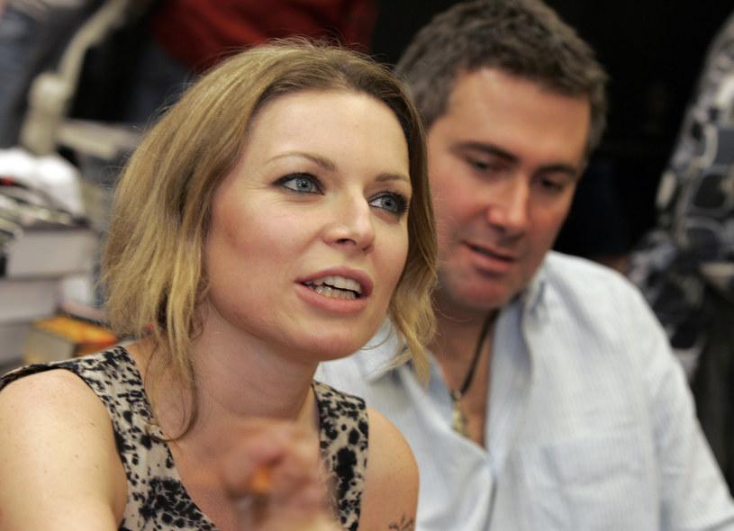 Anna Maria Jopek i Marcin Kydryński / Maciej Jarzebinski /Agencja FORUM