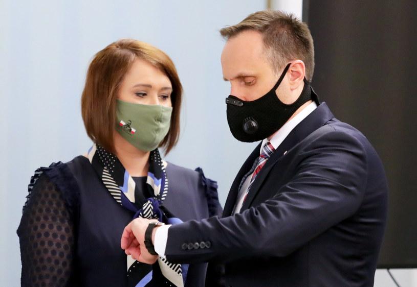 Anna Maria Siarkowska i Janusz Kowalski /Piotr Molecki/East News /East News