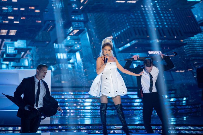 Anna Maria Sieklucka jako Ariana Grande /Polsat