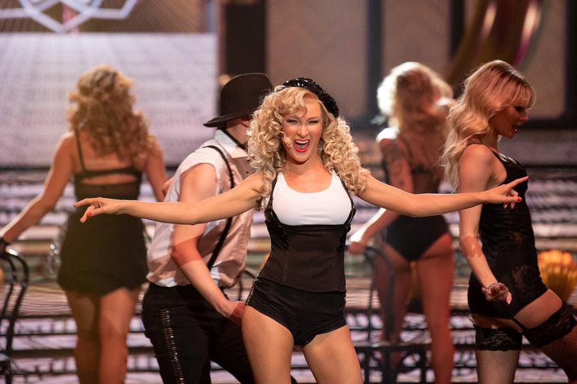 Anna Maria Sieklucka jako Christina Aguilera /Polsat