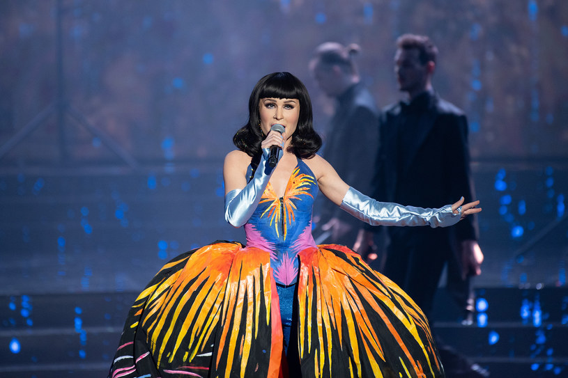 Anna Maria Sieklucka w stroju Katy Perry /Polsat