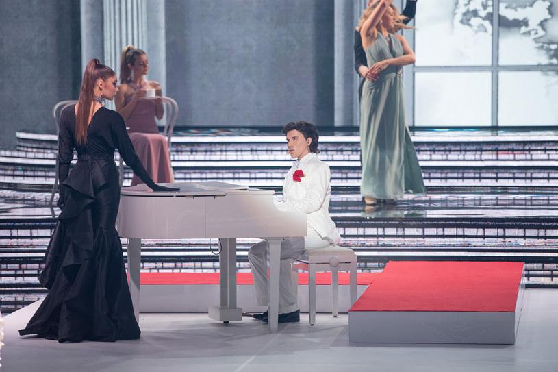 Anna Maria Sieklucka wcieliła się w Gazebo /Polsat