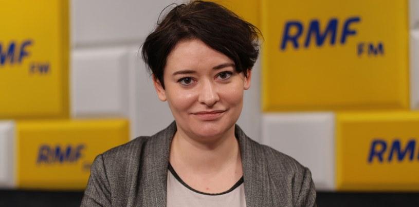 Anna Maria Żukowska była gościem Popołudniowej rozmowy w RMF FM /Karolina Bereza /RMF FM