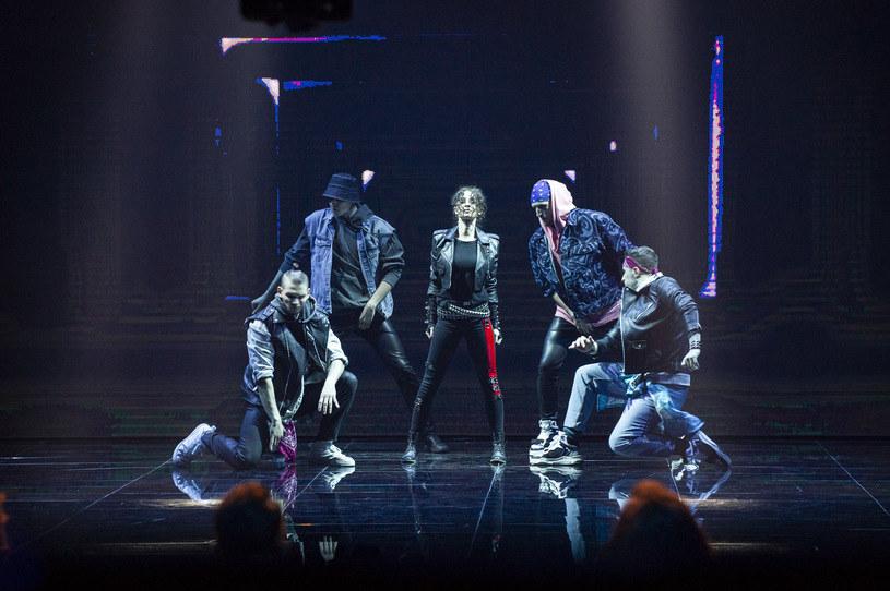 "Anna Matysiak tańczy do ""Bad"" Michaela Jacksona /Natasza Młudzik / Waldemar Kompała /TVP"